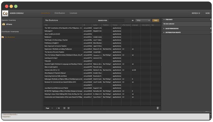 portfolio Adobe Content Server Integration