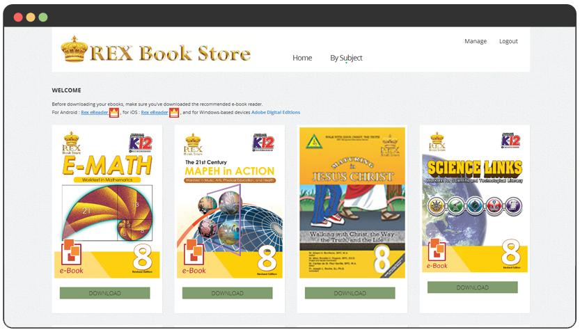 portfolio B2B e-Books Portal