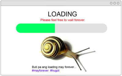 Fixing a slow loading website/webpage