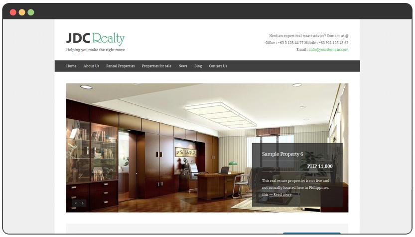 portfolio JDC Realty Site