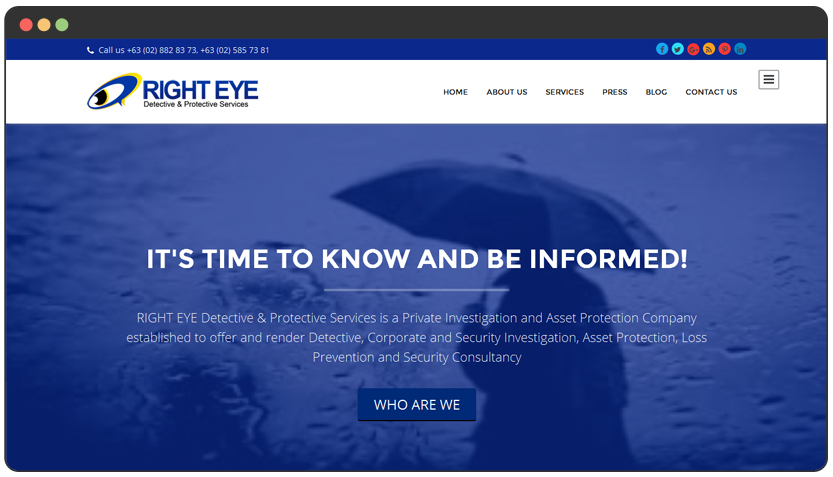 portfolio Private Detective Agency