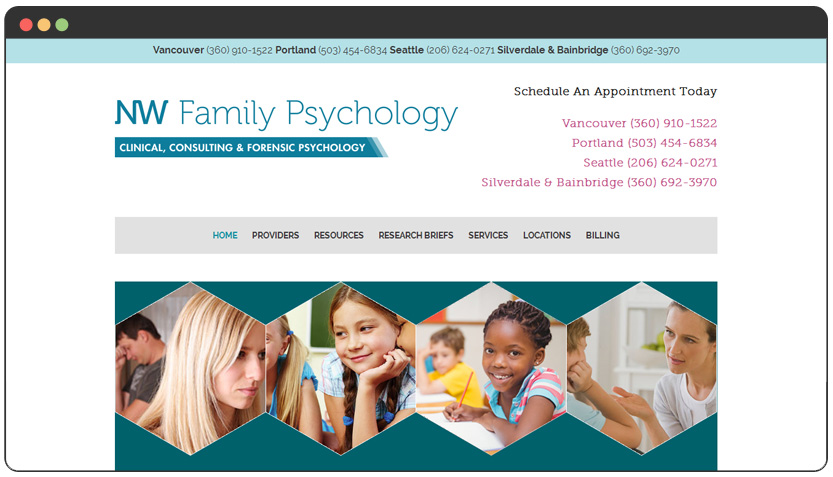 portfolio Family Therapy & Counseling, Psychological & Neurodevelopmental Assessments, and Forensic Services Agency