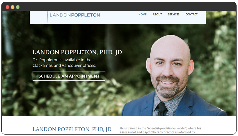 Clinical Psychologist Website