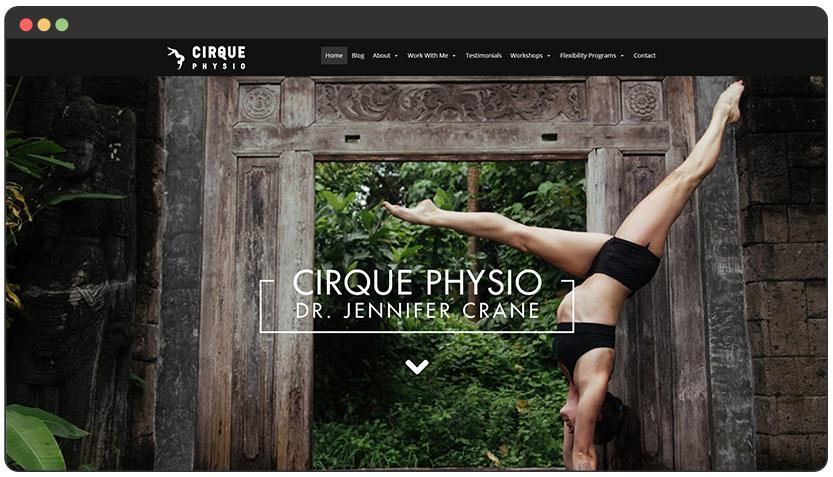 Physiotherapist Website