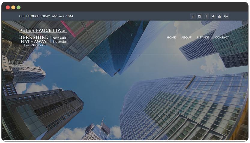portfolio Real Estate Agent Website