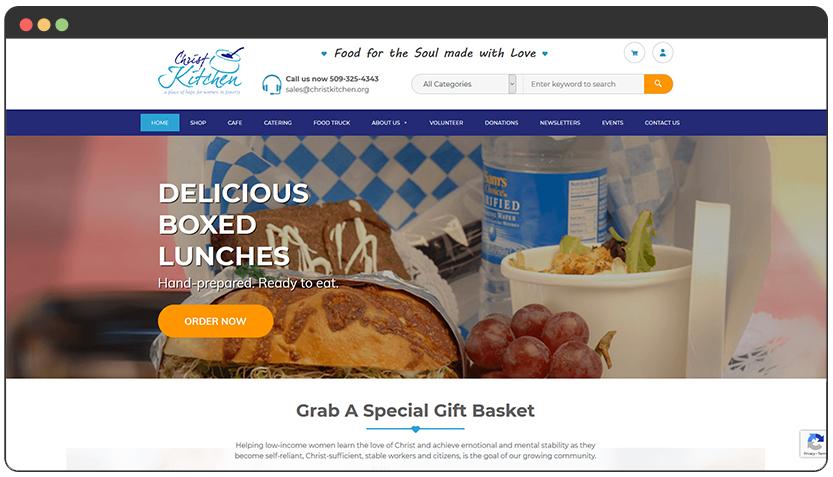 portfolio Christ Kitchen