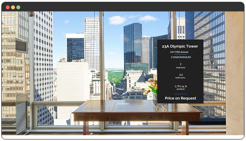 Landing Page – New York Real Estate Property