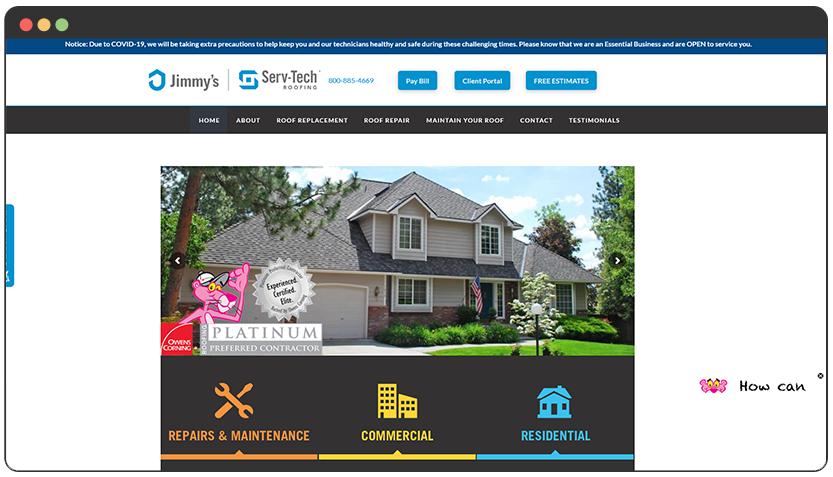 portfolio Roofing Company Spokane